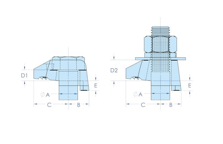 beamclamp type ba bb dimensions