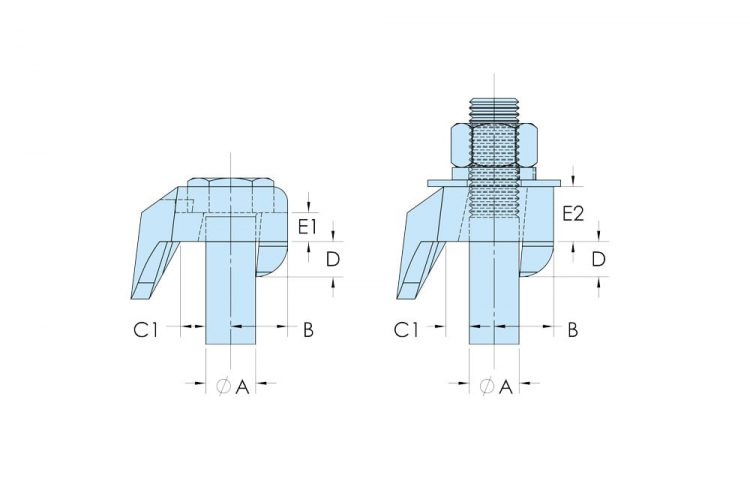 beamclamp type bc1 bd1 flange clamp dimensions