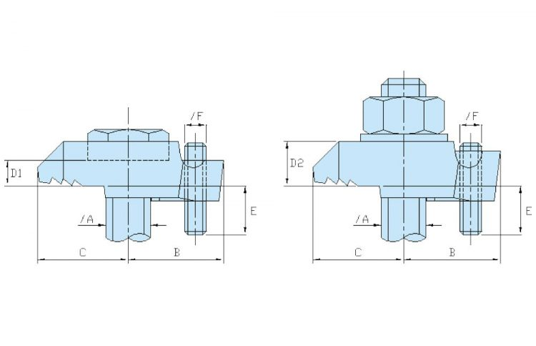 beamclamp type be1 be1 flange clamp dimensions