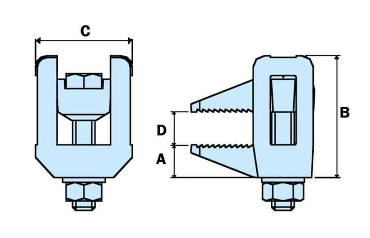 beamclamp bl flange dimensions