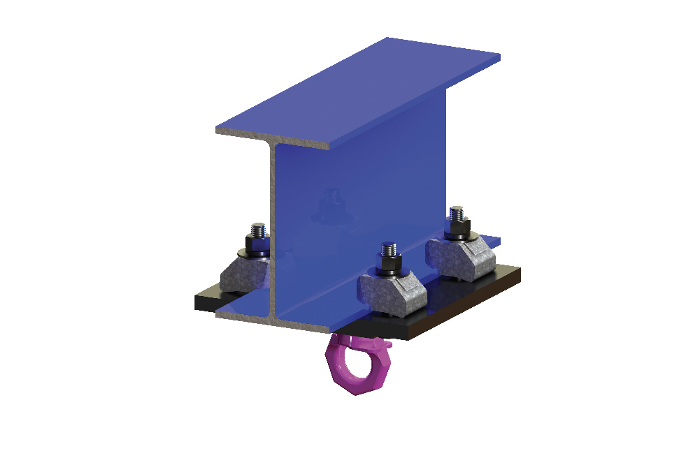 BeamClamp® Rigging Clamp Application